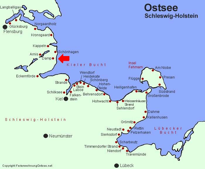 damp ostsee karte Ostsee Damp Karte | hanzeontwerpfabriek
