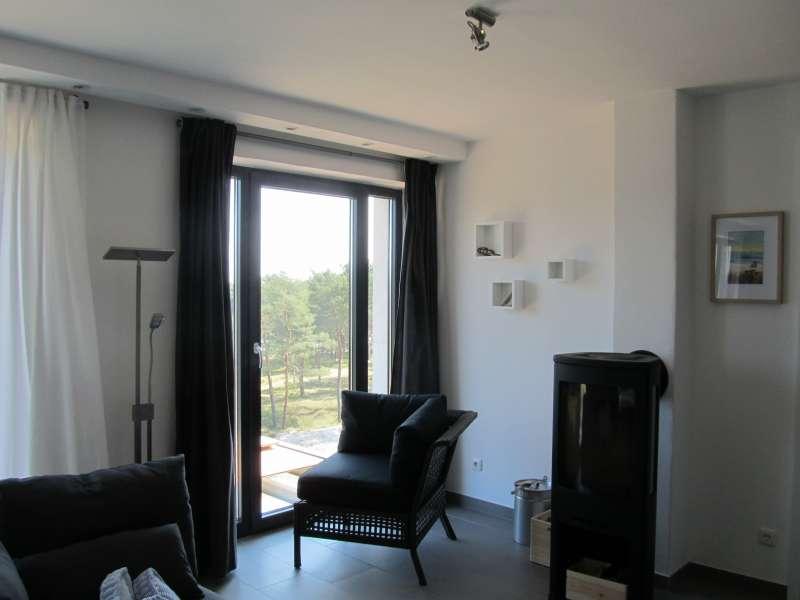 Wohnzimmer mit kamin bildergalerie ostsee ferienwohnung meerblick