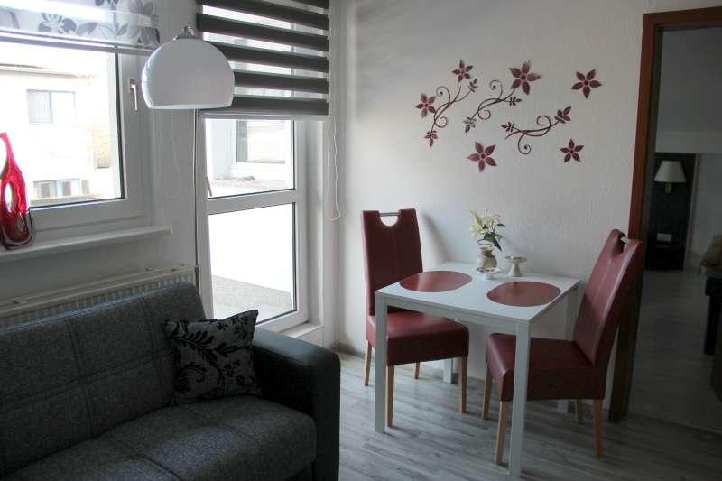 Wohnzimmer Essbereich - Bildergalerie: Ferienwohnung an ...