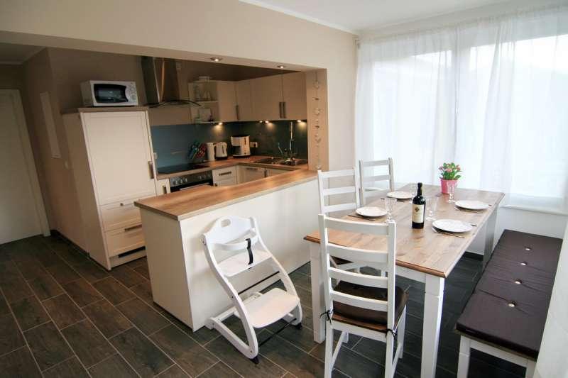Küche und esszimmer bildergalerie 2 ferienwohnungen ostsee
