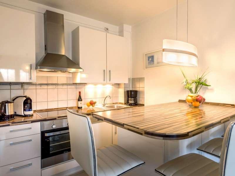 Küche mit Essplatz - Bildergalerie: Ostsee Meerblick ...