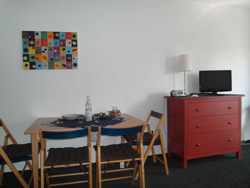 wohnzimmer mit essbereich bildergalerie ostsee ferienwohnung dierhagen fewo 50m og fischland. Black Bedroom Furniture Sets. Home Design Ideas